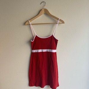 Red Lilian dress